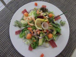 Salade fraicheur aux queues d'écrevisses DSCF1117-300x224